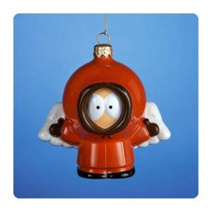 サウスパーク カートS アンダー Kurt S. Adler South Park Angel Kenny 4 1/2-Inch Glass Ornament, Not Mint|fermart-hobby
