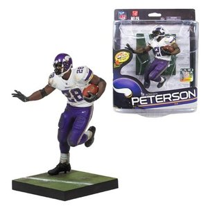 アメフト マクファーレントイズ McFarlane Toys NFL Series 34 Adrian Peterson Action Figure, Not Mint|fermart-hobby