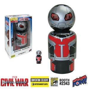 アントマン Ant-Man フィギュア Captain America: Civil War and Giant Man Pin Mate Wooden Figure Set of 2 - Convention Exclusive|fermart-hobby