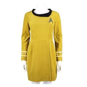 スタートレック Star Trek グッズ the Original Series 50th Anniversary Command Gold Velour Line Dress Prop Replica|fermart-hobby