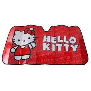 ハローキティ Hello Kitty グッズ Core Accordion Bubble Sunshade|fermart-hobby