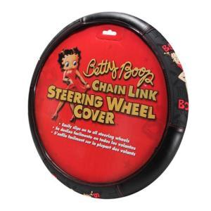 ベティ ブープ Betty Boop グッズ Chainlink Steering Wheel Cover|fermart-hobby