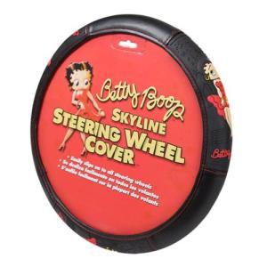 ベティ ブープ Betty Boop グッズ Skyline Steering Wheel Cover|fermart-hobby
