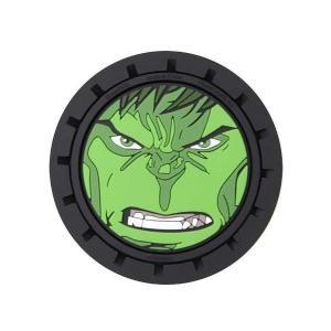 ハルク プラスティッカラー Plasticolor Hulk Marvel Auto Coasters 2-Pack|fermart-hobby