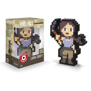 トゥームレイダー Tomb Raider フィギュア Pixel Pals Shadow of the Lara Croft Collectible Lighted Figure|fermart-hobby