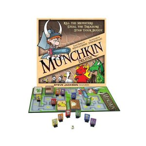 マンチキン スティーブジャクソンゲーム Steve Jackson Games Munchkin Deluxe Game|fermart-hobby