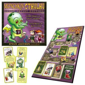 マンチキン Munchkin ゲーム・パズル Cthulhu Guest Artist Edition Katie Cook Game|fermart-hobby