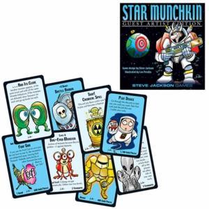マンチキン スティーブジャクソンゲーム Steve Jackson Games Munchkin Star Munchkin Guest Artist Edition Card Game|fermart-hobby