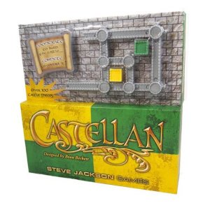 キャステリアン スティーブジャクソンゲーム Steve Jackson Games Castellan Yellow and Green Multilingual Game|fermart-hobby