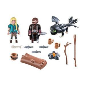 ヒックとドラゴン How to Train Your Dragon フィギュア 70040 Dragons Hiccup and Astrid with Baby Dragon fermart-hobby
