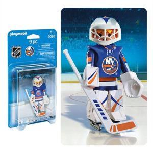 ホッケー Hockey 可動式フィギュア 9098 NHL New York Islanders Goalie Action Figure fermart-hobby