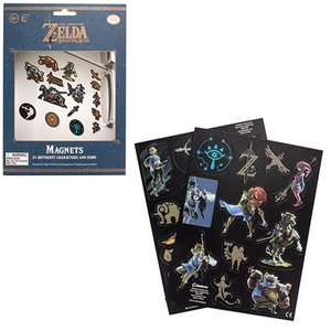 ゼルダの伝説 Legend of Zelda グッズ The Magnet Set|fermart-hobby