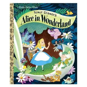 アリス イン ワンダーランド Alice in Wonderland 本・雑誌 Walt Disney's Little Golden Book|fermart-hobby