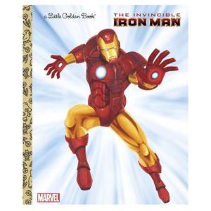 アイアンマン Iron Man 本・雑誌 Marvel The Invincible Little Golden Book fermart-hobby