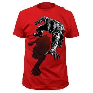 ブラックパンサー インパクトマーチャンダイジング Impact Merchandising Black Panther Shadow Red T-Shirt|fermart-hobby