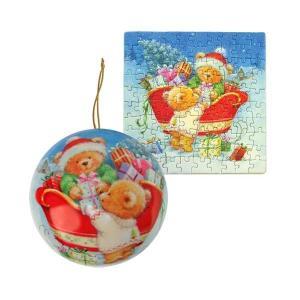ホリディ プレイルーム エンターテインメント Playroom Entertainment Holiday Ornament Bears Puzzle|fermart-hobby