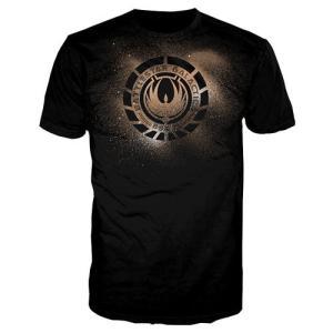 ギャラクティカ クァンタムメカニクス Quantum Mechanix Battlestar Galactica Phoenix Crest Black T|fermart-hobby