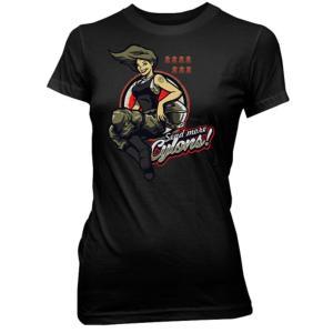 ギャラクティカ クァンタムメカニクス Quantum Mechanix Battlestar Galactica Send More Cylons Juniors Black T-Shirt|fermart-hobby