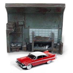 映画 Movies グッズ Johnny Lightning Silver Screen Diorama 1:64 Scale Set|fermart-hobby