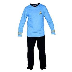 スタートレック ローブファクトリー Robe Factory Star Trek Original Series Spock Pajama Set|fermart-hobby