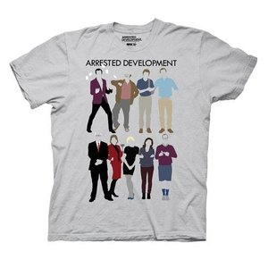 アレステッド ディベロップメント リップルジャンクション Ripple Junction Arrested Development The Bluth Family Clothing Gray T|fermart-hobby