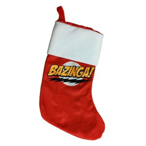 ビッグバン セオリー Big Bang Theory グッズ Bazinga Holiday Stocking|fermart-hobby