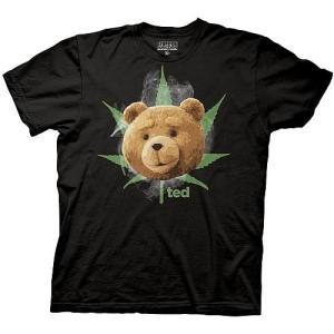 テッド リップルジャンクション Ripple Junction Ted Face with Pot Leaf and Smoke Black T|fermart-hobby