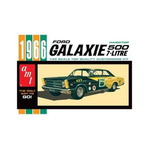 クラッシックカー ラウンド2 Round 2 1966 Ford Galaxie Model Kit|fermart-hobby