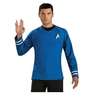 スタートレック ルービーズ Rubies Star Trek Movie Uniform Grand Heritage Blue Shirt|fermart-hobby