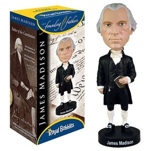 歴史上の人物フィギュア Historical Figures フィギュア James Madison Bobble Head|fermart-hobby