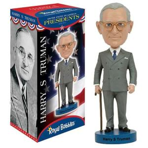 歴史上の人物フィギュア Historical Figures フィギュア Harry S. Truman Bobble Head|fermart-hobby