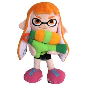 スプラトゥーン Splatoon ぬいぐるみ・人形 Inkling Girl Orange 9-Inch Plush|fermart-hobby