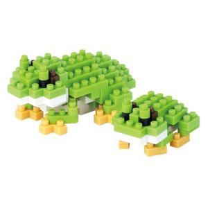 アニマルズ Animals フィギュア Tree Frog Nanoblock Constructible Figure|fermart-hobby