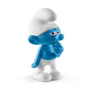 スマーフ Smurfs フィギュア Clumsy Smurf Collectible Figure|fermart-hobby