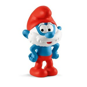 スマーフ Smurfs フィギュア Papa Smurf Collectible Figure|fermart-hobby