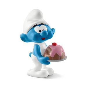 スマーフ Smurfs フィギュア Greedy Smurf Collectible Figure|fermart-hobby