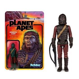 猿の惑星 Planet of the Apes 可動式フィギュア General Aldo ReAction Figure|fermart-hobby