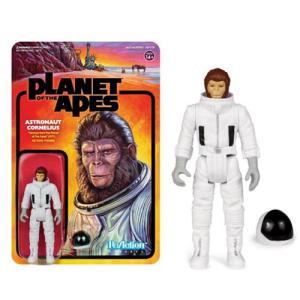 猿の惑星 Planet of the Apes 可動式フィギュア Astronaut Cornelius ReAction Figure|fermart-hobby