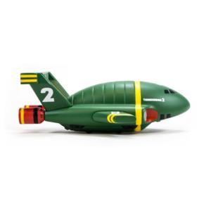 サンダーバード タイタン Titan Merchandise Thunderbirds Thunderbird 2 Vehicle 4 1/2-Inch Vinyl Figure|fermart-hobby