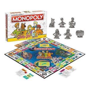 スクービー ドゥー Scooby-Doo ゲーム・パズル Monopoly Game|fermart-hobby