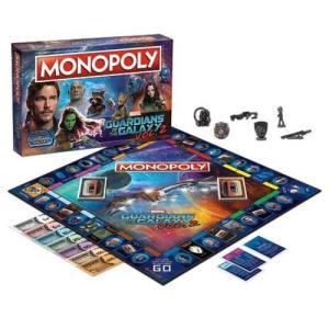 ガーディアンズ オブ ギャラクシー Guardians of the Galaxy ゲーム・パズル Vol. 2 Monopoly Game|fermart-hobby
