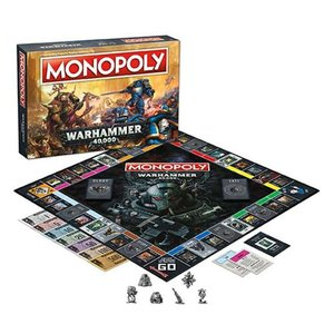 ウォーハンマー Warhammer ゲーム・パズル 40,000 Monopoly Game Collectors Edition|fermart-hobby