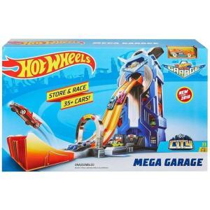 ホットウィール Hot Wheels おもちゃ・ホビー City Mega Garage Die-Cast Car Playset|fermart-hobby
