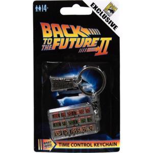 バック トゥ ザ フューチャー Back to the Future ファクトリーエンターテインメント ユニセックス キーホルダー II Time Circuit Exclusive Keychain|fermart-hobby