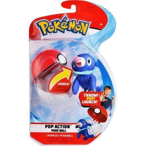 ポケットモンスター Pokemon ぬいぐるみ・人形 Pop Action Poke Ball Popplio & Poke Ball Throw Poke Ball Plush|fermart-hobby