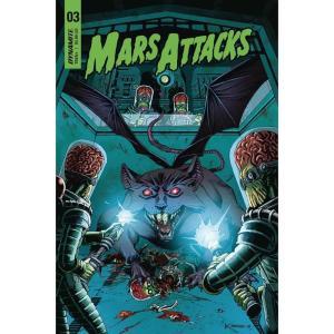 コミック/本 Comic Books 本・雑誌 Mars Attacks #3 Comic Book [Marron Cover C] fermart-hobby