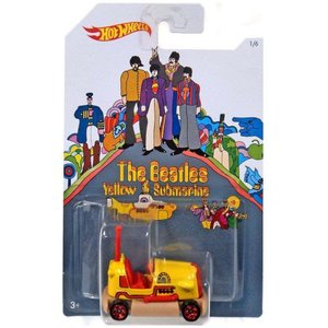ビートルズ The Beatles おもちゃ・ホビー Hot Wheels Yellow Submarine 50th Anniversary Bump Around Die-Cast Car #1/6|fermart-hobby