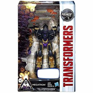 トランスフォーマー Transformers ハズブロ Hasbro Toys フィギュア おもちゃ The Last Knight Premier Deluxe Megatron Exclusive Deluxe Action Figure|fermart-hobby