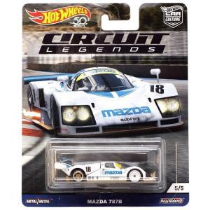 ホットウィール Hot Wheels おもちゃ・ホビー Circuit Legends Mazda 787B Diecast Car|fermart-hobby