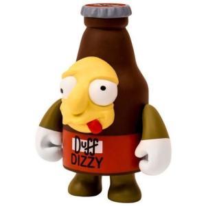 ザ シンプソンズ The Simpsons キッドロボット Kidrobot フィギュア おもちゃ Dizzy Duff 3-Inch Figure|fermart-hobby